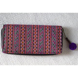 Hand Woven Hmong Tribe Wallet - The Fox and The Mermaid - 2