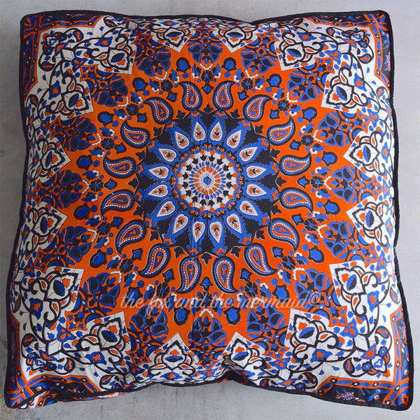 Shining Star Mandala Tapestry Floor Cushion and Dog Bed