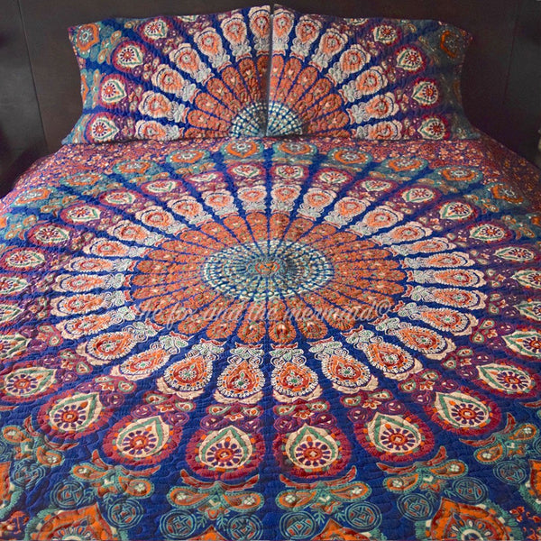 Gypsy Wanderer Mandala Quilt - The Fox and The Mermaid - 1