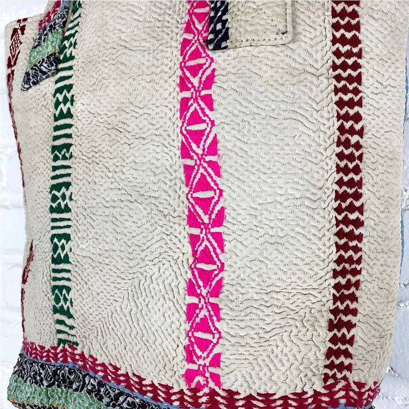 Kantha vintage bag The Fox and the Mermaid