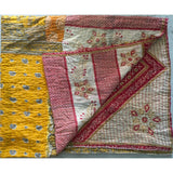 Paisley Kantha Vintage Quilt The Fox and the Mermaid