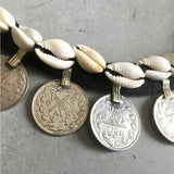 Detail of Tribal Necklace and coins The Fox and the Mermaid