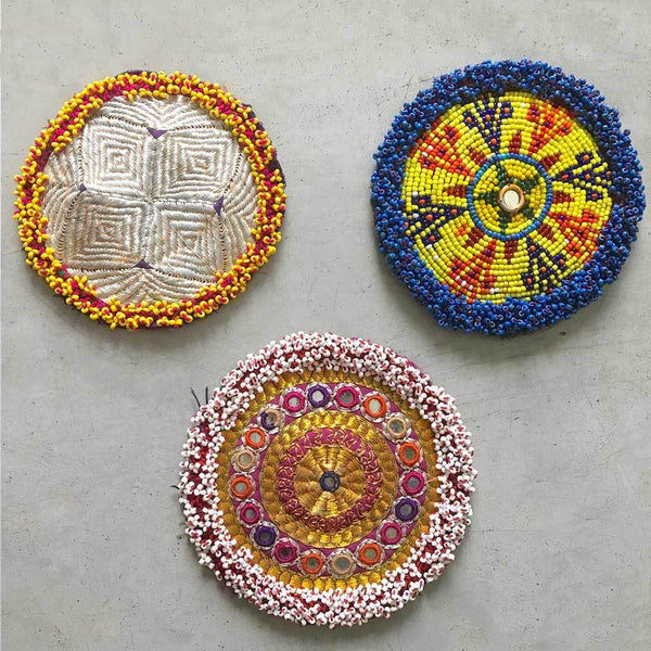 Vintage Kuchi Gul Medallion Patch (Various)