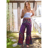 Mandala Bell Bottom Pants The Fox and the Mermaid