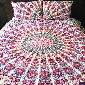 Valentina Mandala Quilt - The Fox and The Mermaid - 1