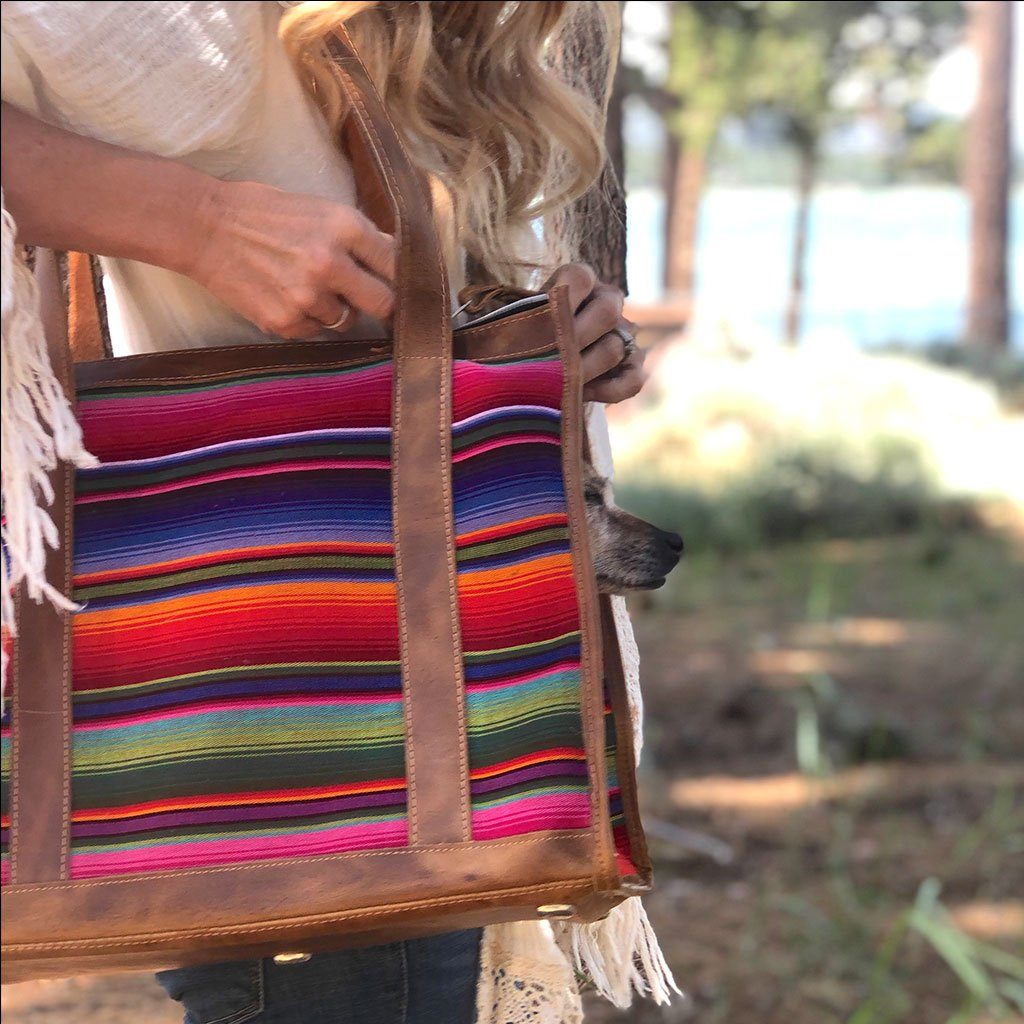 Serape dog purse  The Fox and the Mermaid