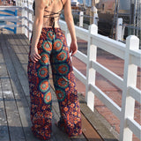 Mandala Tapestry Palazzo Pants The Fox and the Mermaid