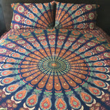 The Gypsy Wanderer Tapestry Bedding - The Fox and The Mermaid - 2