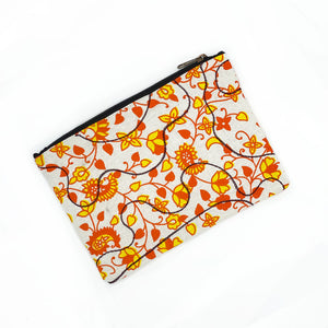yellow and orange quilted bag - The Fox and the Mermaid