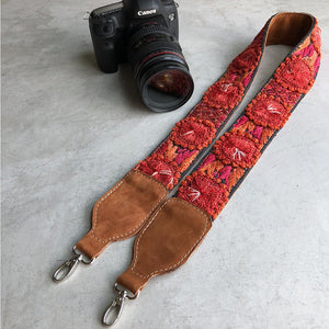 Embroidered Strap - The Fox and The Mermaid