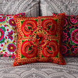 Embroidered Hmong Hill Tribe Cushions (Various Colors)