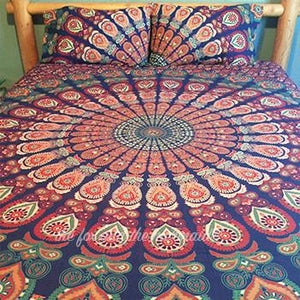 The Gypsy Wanderer Tapestry Bedding - The Fox and The Mermaid - 4