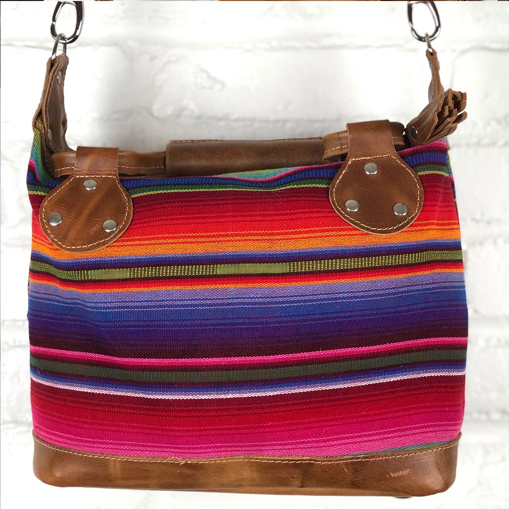 rainbow bag from guatemala The Fox and the Mermaid