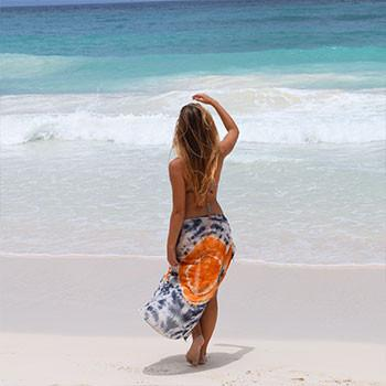 Sunset Beach Scarf & Sarong - The Fox and The Mermaid
