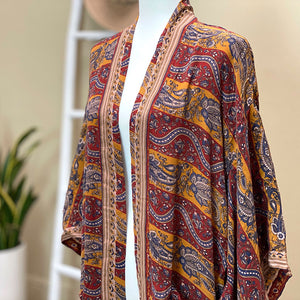 boho vintage kimono - The Fox and the Mermaid
