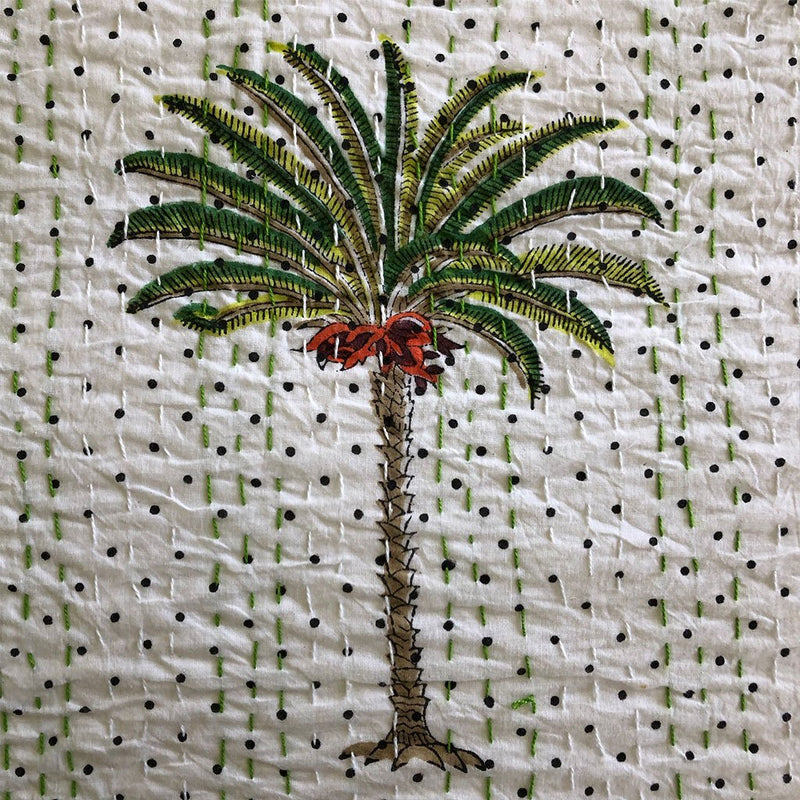 palm tree detail The Fox and the Mermaid