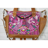 Convertible Guatemalan Huipil Bag - The Fox and The Mermaid