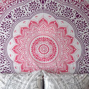 Pale Pink Ombre Large Tapestry