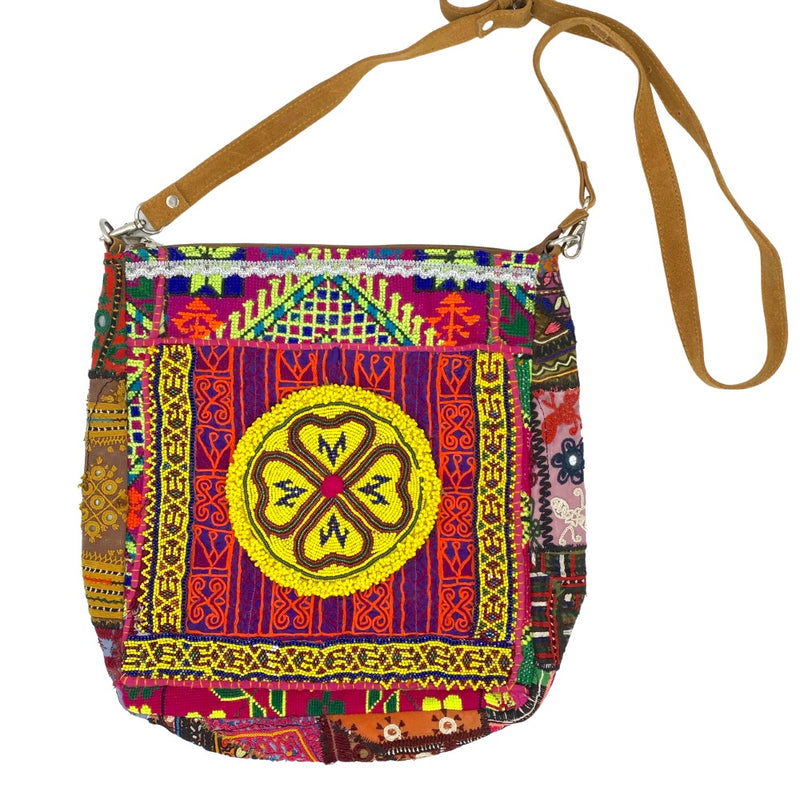 Beaded vintage indian bag - The Fox and the Mermaid