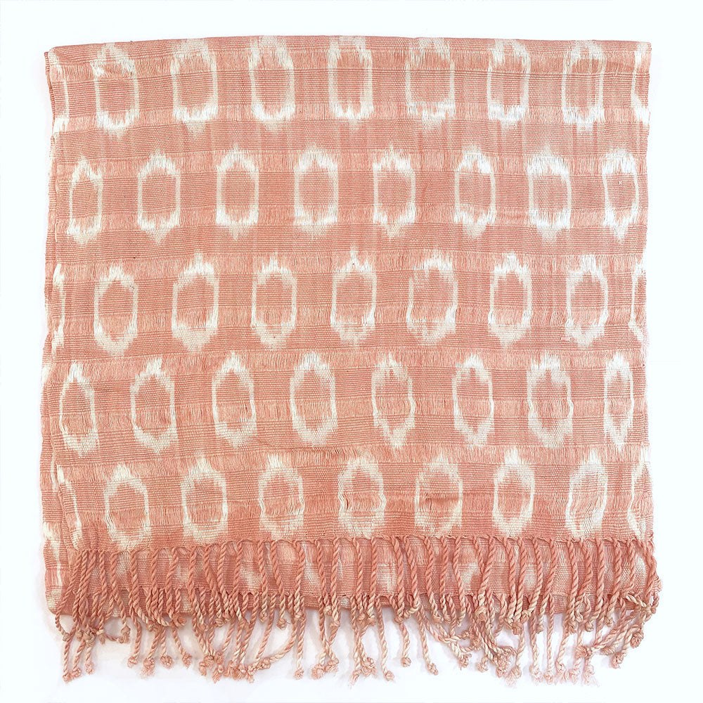 pink mottle jaspe scarf - The Fox and the Mermaid