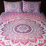 La Vie Boheme Ombre Tapestry Bedding - The Fox and The Mermaid - 1