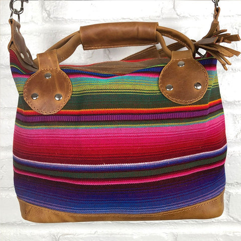 Mayan Rainbow Shoulder Bag