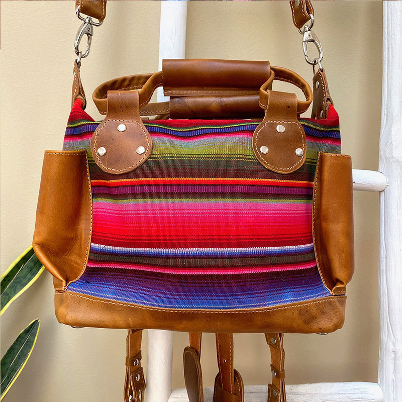 Mexican Serape Backpack Bag - The Fox and the Mermaid