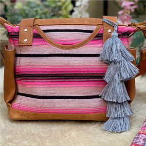 mexican style serape purse - The Fox and the Mermaid