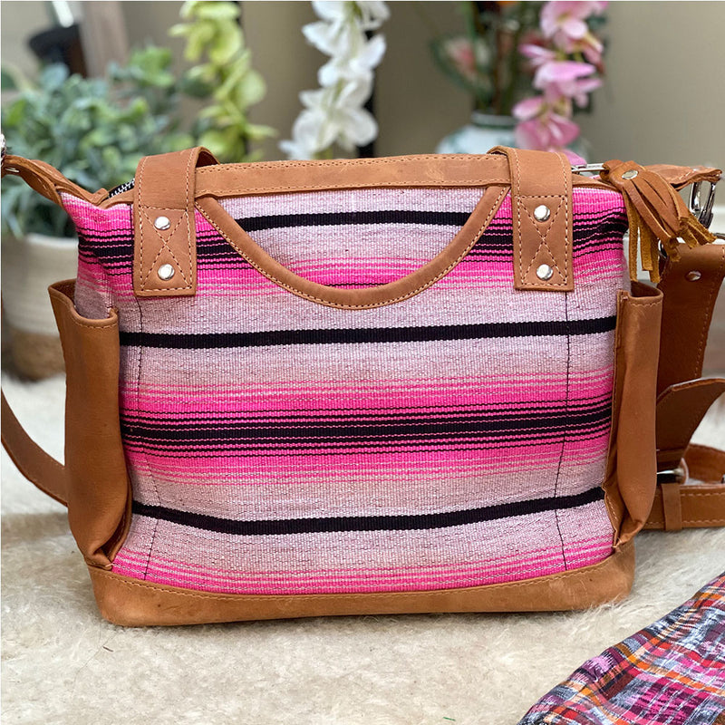 tan leather serape bag - The Fox and the Mermaid