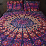 Amethyst Mandala Kantha Quilt - The Fox and The Mermaid - 1