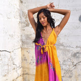 bohemian silk dress The Fox and the Mermaid