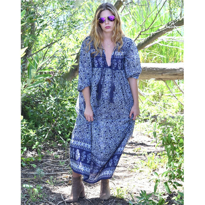 Santa Cruz Maxi Dress: Orchid