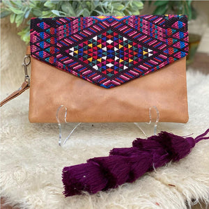 purple bag tassel - The Fox and the Mermaid