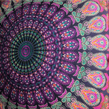 purple mandala tapestry dog bed The Fox and the Mermaid