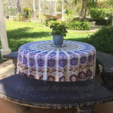 The Lilac Mandala Roundie with Fringe - The Fox and The Mermaid - 8