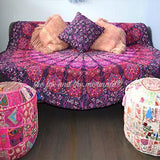 Hello Love Quilted Mandala Roundie Quilt with Pom-Poms - The Fox and The Mermaid