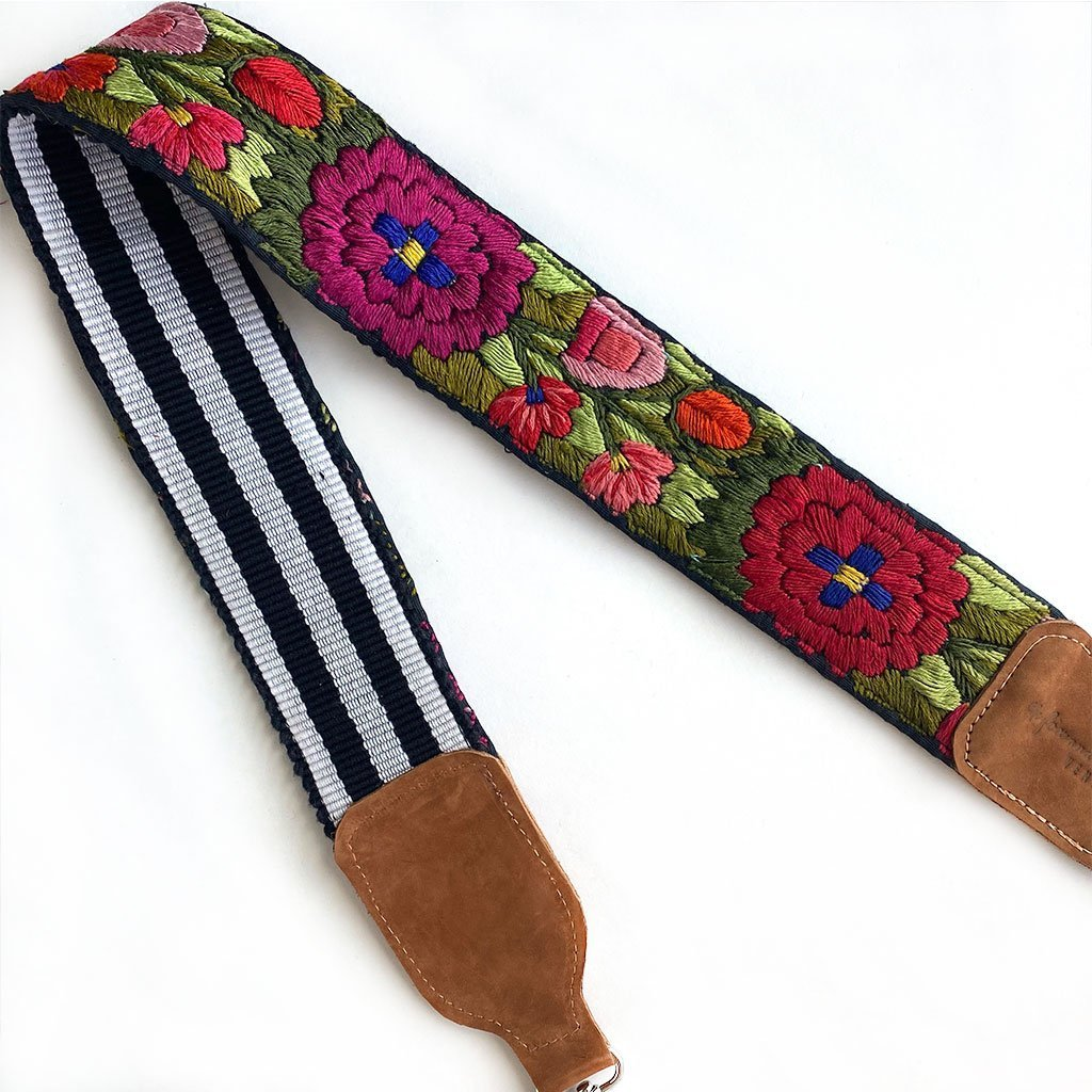 guatemalan woven strap - The Fox and the Mermaid