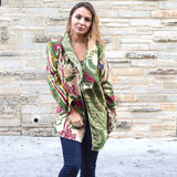 Kantha Jacket (L) - The Fox and The Mermaid