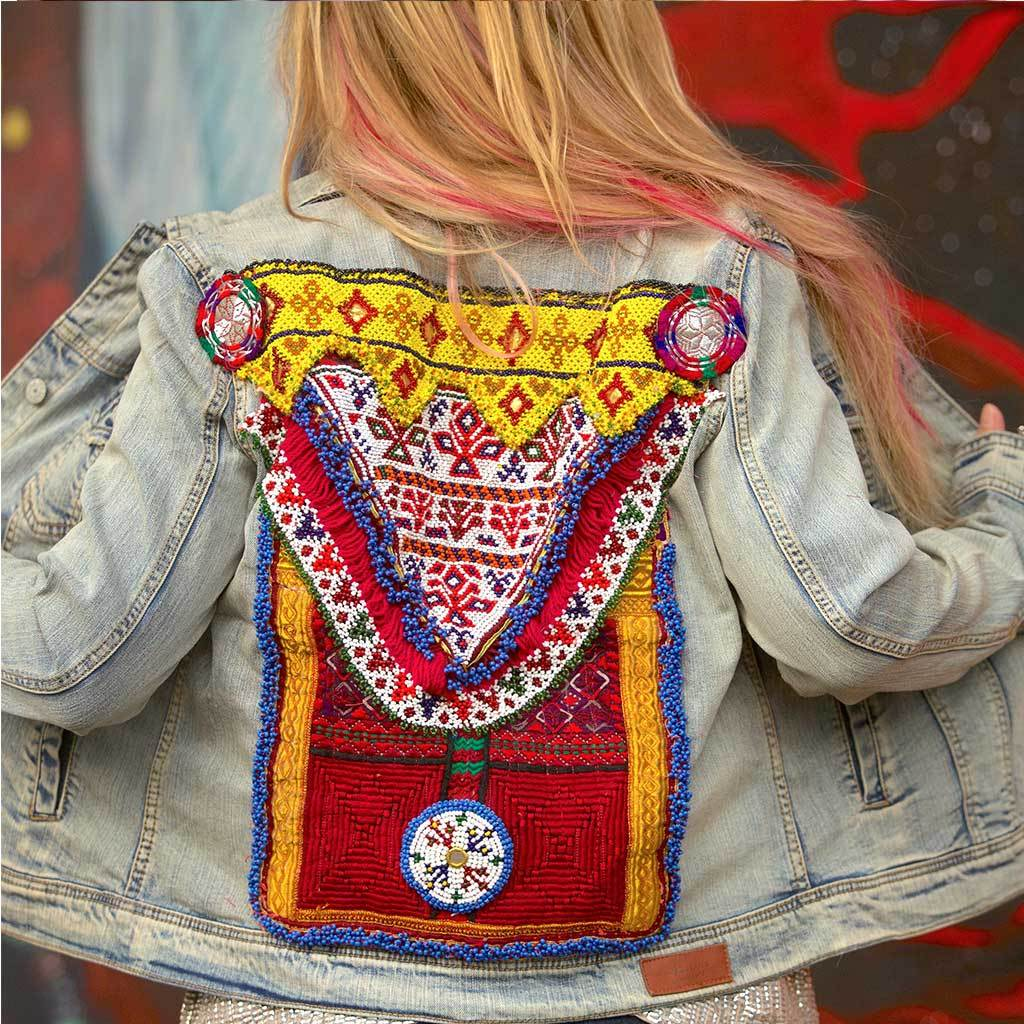 embellished Denim Jacket The Fox and the Mermaid