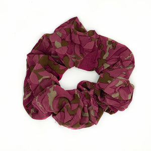 pink vintage silk scrunchie - The Fox and the Mermaid