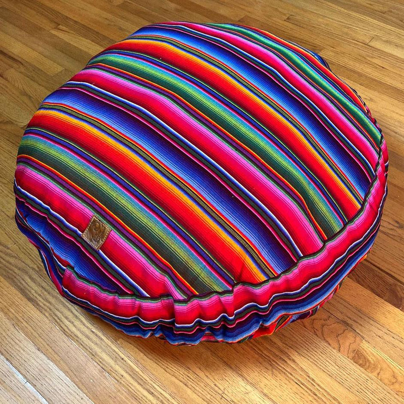 Round Serape Dog Bed - The Fox and the Mermaid