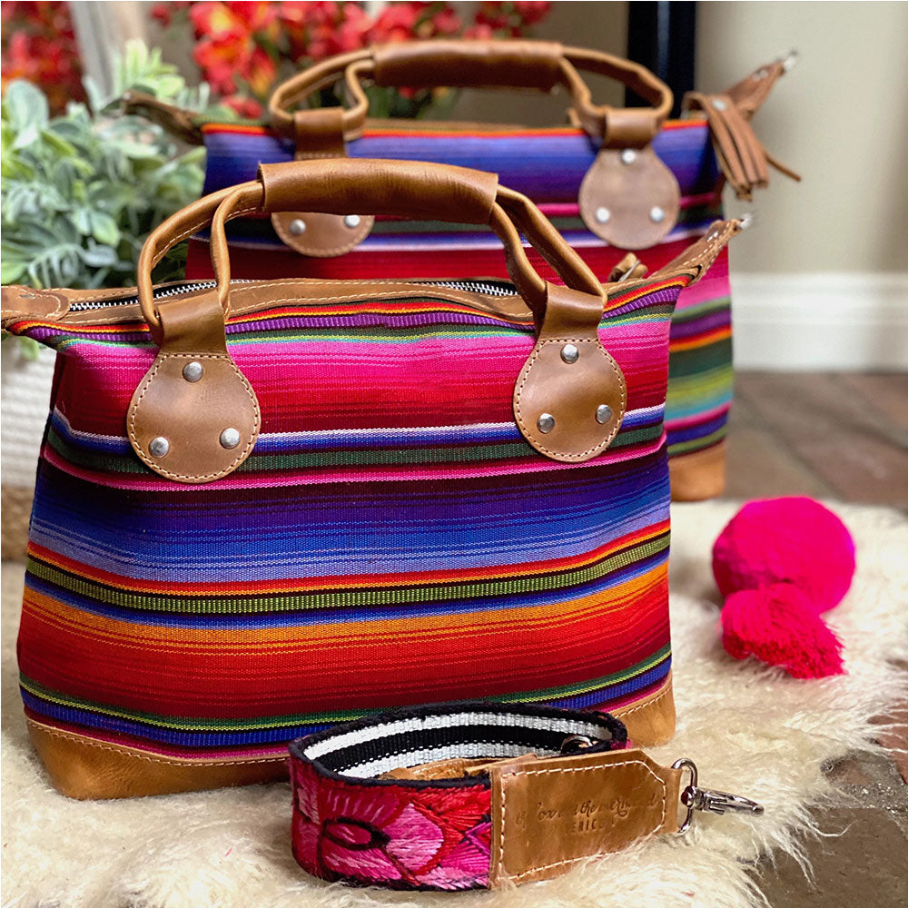 Serape style mini bag - The Fox and the Mermaid