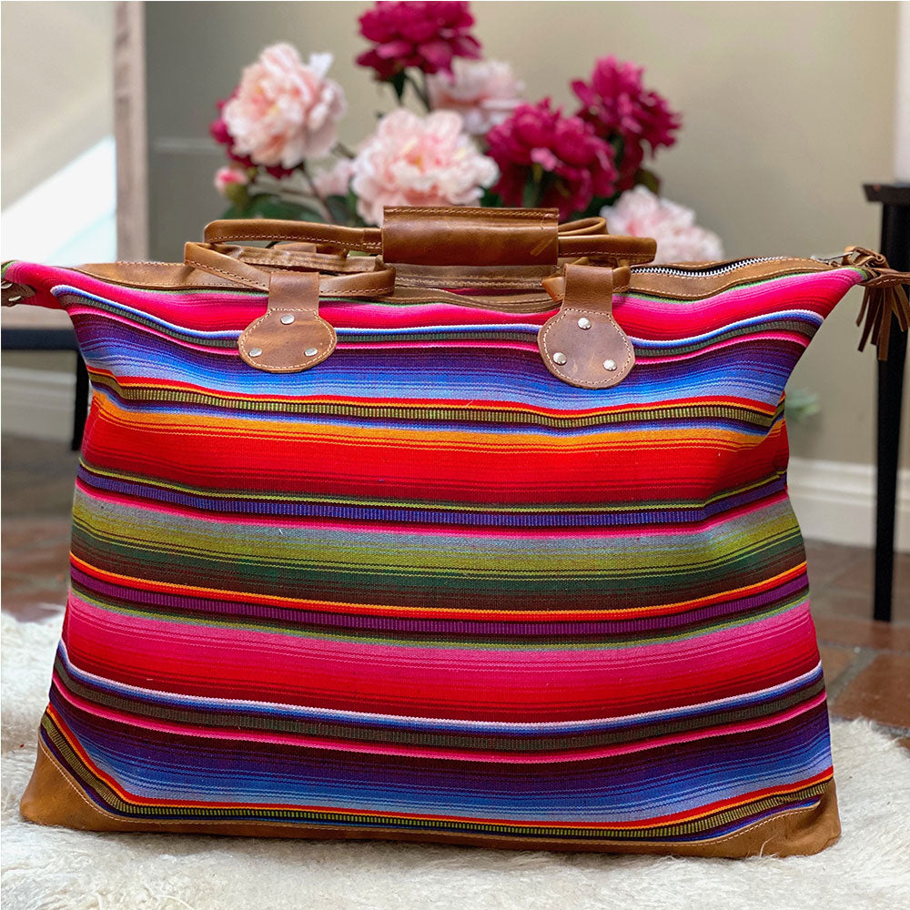 Serape Weekender Travel Bag - The Fox and the Mermaid
