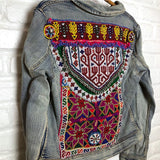 embroidered tribal jacket The Fox and the Mermaid