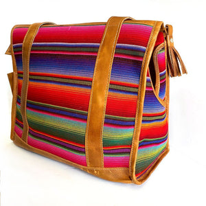 Serape dog bag - The Fox and the Mermaid