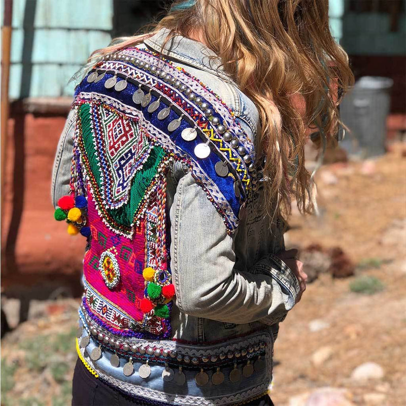 Embellished Jacket (S) - The Fox and The Mermaid