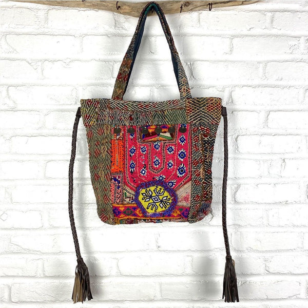 vintage tribal banjara bag The Fox and the Mermaid