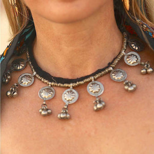 Kuchi Tribe Necklace with Bells - The Fox and The Mermaid