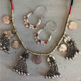 Kuchi Tribe Necklace with Coins and Bells - The Fox and The Mermaid