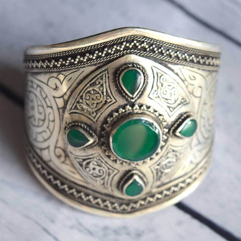 Engraved Kuchi Tribe Cuff